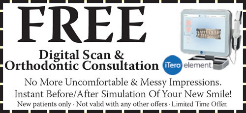 New Patient Offer for FREE Digital Scan and Orthodontic Consultation